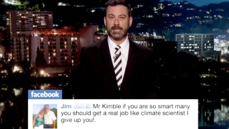 Jimmy Kimmel Received A Predictable Amount Of Backlash Over His Climate Change PSA