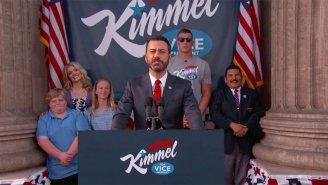 Jimmy Kimmel Announces His Intentions To Run For Vice President Of The United States