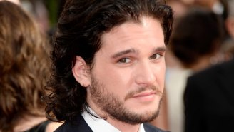 Kit Harington Is Currently Keeping The Crypt Statue Of Jon Snow In His Shed