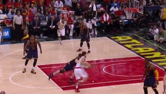 Kris Humphries Kinda Sorta Just Broke Kevin Love's Ankles But Not Really