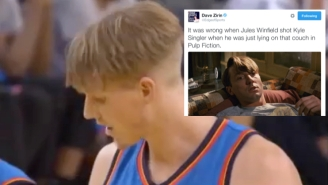 Twitter Treated Kyle Singler Like Its Own Personal Punching Bag When He Came Into Game 2