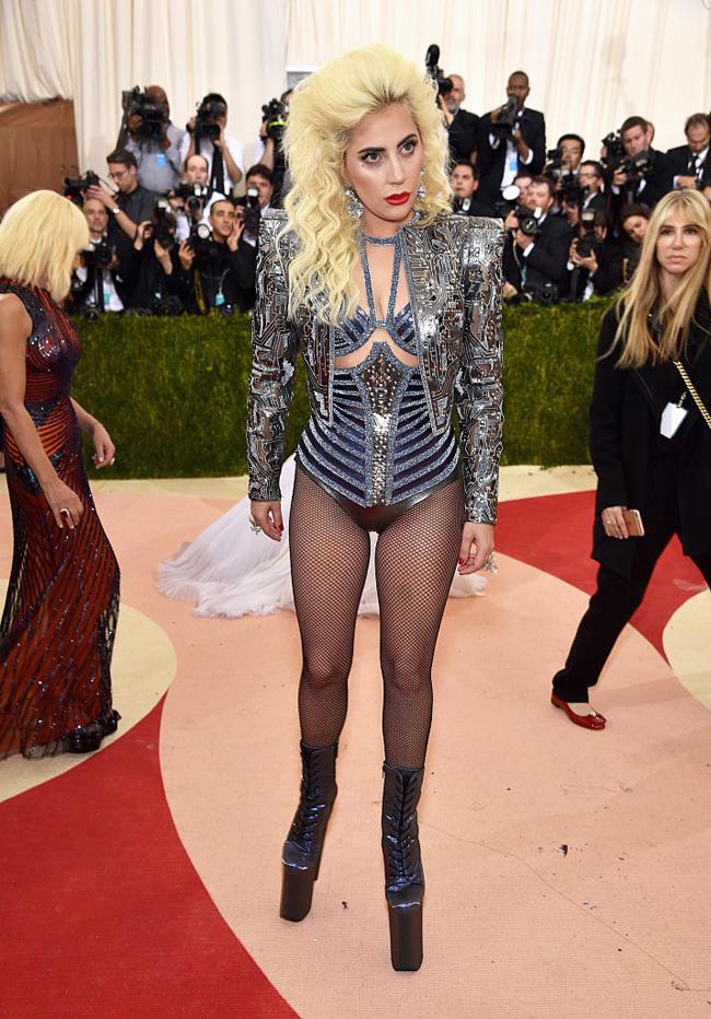 Lady Gaga Met Gala 2016
