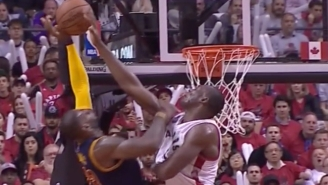 Bismack Biyombo Rejected LeBron So Cleanly At The Rim, He Got Called For A Foul