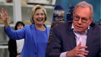 Lewis Black's Hillary Clinton Carpool Metaphor Pretty Much Nails Her Biggest Campaign Problem