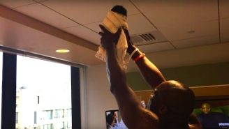 A Creative Dad Recreated The Circle Of Life Scene From 'The Lion King' To Introduce His Baby