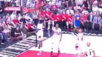 Shaun Livingston Shook Damian Lillard With A Nasty Move Before Throwing Down On Al-Farouq Aminu