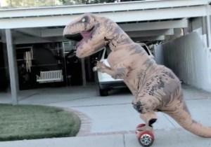 Meet Luchasaurus, Your New Favorite Pro Wrestling Dinosaur