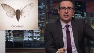John Oliver explains the world, Beyonce to emerging cicadas