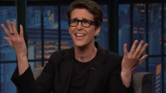 Rachel Maddow Says She Sees '50/50′ Odds Between Clinton And Trump Right Now