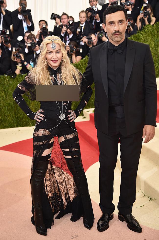 Madonna Met Gala 2016
