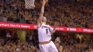 Channing Frye Found Matthew Dellavedova With A Bullet Pass For This Beautiful And-1 Layup