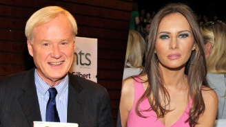 Another Hot Mic Snafu For Chris Matthews Reveals That He's A Fan Of Melania Trump