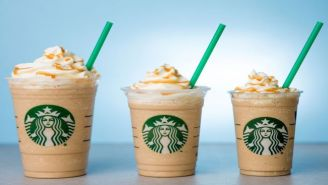Starbucks Is Finally Helping You Cut Back On Sugar! (By Bringing Back Mini Frappuccinos)