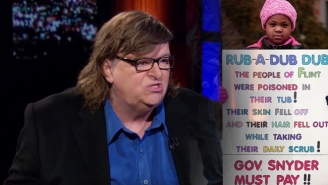 Michael Moore Has Very Strong Opinions On The Flint Water Crisis: 'This Was A Hate Crime'