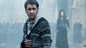 Matthew Lewis Discusses The Passing Of His 'Harry Potter' Mentor, Alan Rickman