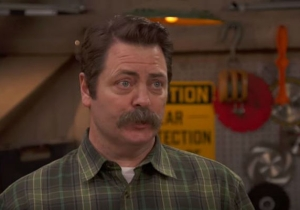 Nick Offerman Praising The Art Of Woodworking On 'This Old House' Is Peak Ron Swanson