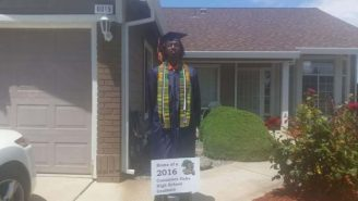 A High School Student Was Removed From His Graduation By Police For Wearing A Kente Cloth