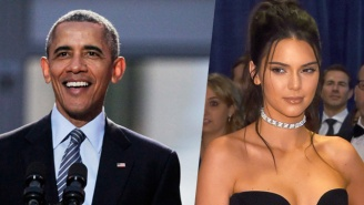 Obama Asks Kendall Jenner To Pass A Message To Kanye At The White House Correspondents' Dinner
