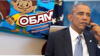 A Russian Company Is Now Selling Tone Deaf 'Little Obama' Ice Cream Bars