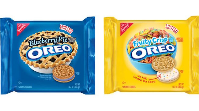 Oreos That Taste Like Fruity Pebbles And Blueberry Pie Are Here To Give Your Entire Life Meaning