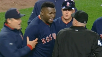David Ortiz Went Berserk On An Umpire After Two Controversial Strike Calls