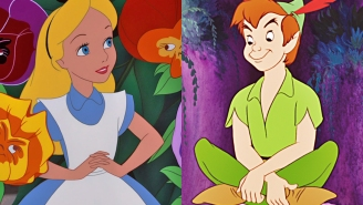 There is one redeeming quality of this 'Peter Pan'-'Alice in Wonderland' mashup