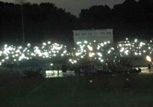 A Power Outage Turned This High School's Graduation Into A Cell Phone Lit Event To Remember