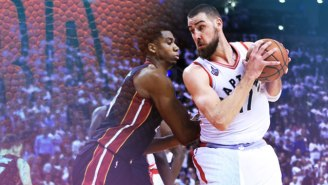 Hassan Whiteside Can't Handle Jonas Valanciunas, Which Could Be The Key To The Raptors' Scoring Woes