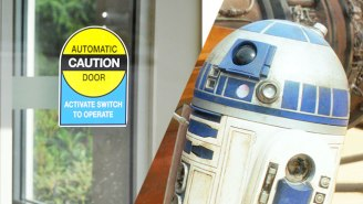 This Automatic Door Sounds Exactly Like R2-D2 Screaming
