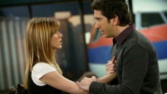 Ross And Rachel On 'Friends' Weren't Originally Supposed To Break Up