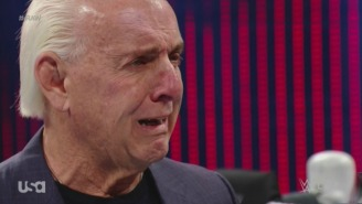 A Ric Flair Appearance At Royal Rumble Was Reportedly Scrapped