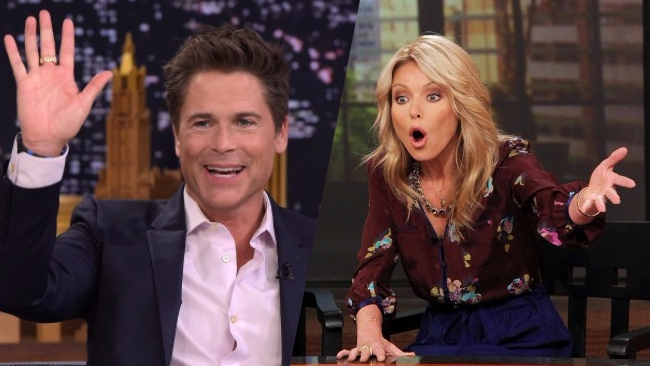 Rob Lowe Kelly Ripa