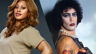 Check Out The First Look At Laverne Cox In 'The Rocky Horror Picture Show Live'