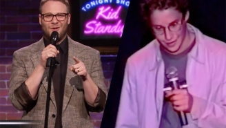Seth Rogen Tests Out Kid Stand-Up Comedy After Watching A Classic Look At Some Of His Own