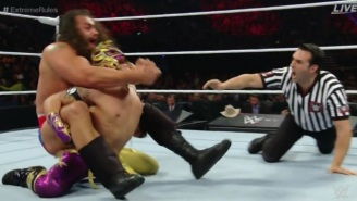 Here's The Finish That Crowned A New WWE United States Champion At Extreme Rules
