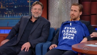 Ryan Gosling's Mom Stumps Stephen Colbert With A Clever Bit Of 'Lord Of The Rings' Trivia