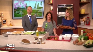 Watch This Morning Show Guest Make The Grossest Joke Ever On Live TV