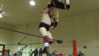 This Wrestler Turned A Highly Dangerous And Botched Move Into A Victory