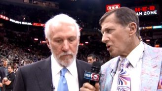 Gregg Popovich Was Back To His Crabby Self In This Interview With Craig Sager