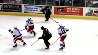 This NHL Prospect's Crazy Goal Was Either Amazing Or Lucky, Depending On Which Broadcast You Hear