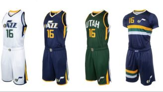 The Utah Jazz Unveiled Their Awesome New Uniforms (Well, Except For One Of Them)