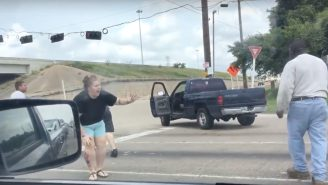 An Insane Road Rage Brawl Was Caught On Camera In Houston