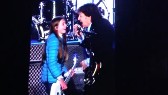 Paul McCartney Invited A 10-Year-Old Fan To Play Bass With Him On Stage