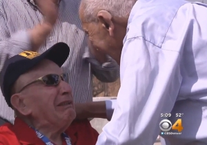 Watch This 90-Year-Old Holocaust Survivor Reunite With The Soldier Who Saved Him 71 Years Ago
