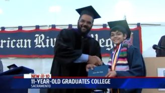 Let This 11-Year Old Who Just Graduated From College Make You Feel Bad About Yourself