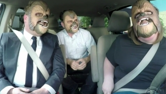 Chewbacca Mom Continues To Have The Time Of Her Life With A Very Special Guest On 'The Late Late Show'