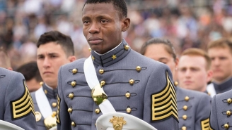 This Photo Of A Haitian-Born West Point Graduate Will Put A Lump In Your Throat