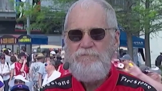 David Letterman Let Everyone Know He Was Drunk At The Indianapolis 500