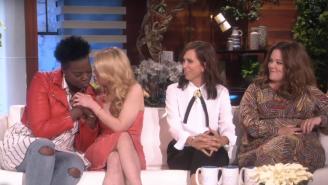 'Ghostbusters' Cast Appears on 'Ellen'