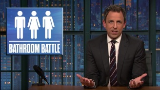 Seth Meyers Takes A Closer Look At Bathrooms As Battlegrounds
